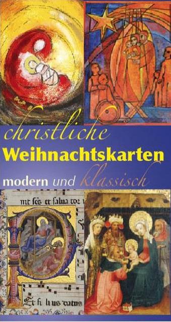 Religiöse Weihnachtskarten.Christliche Weihnachtskarten Paulus Buchhandlung